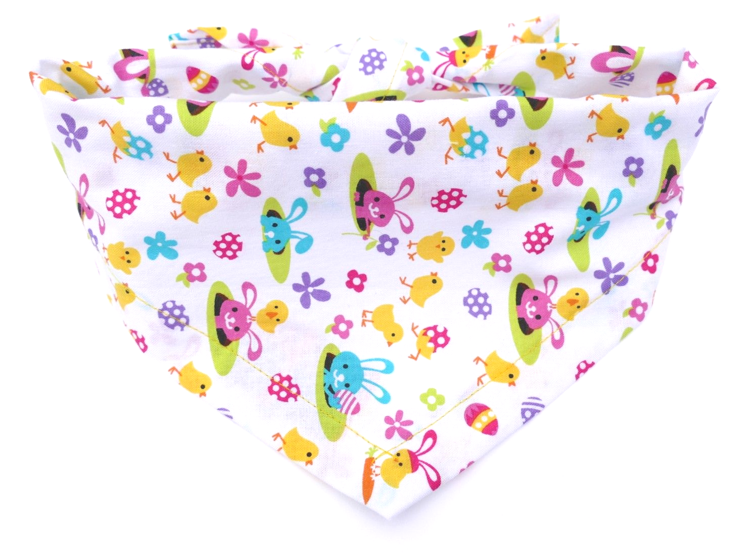 EASTER  DOG BANDANA BY DUDIEDOG BANDANAS