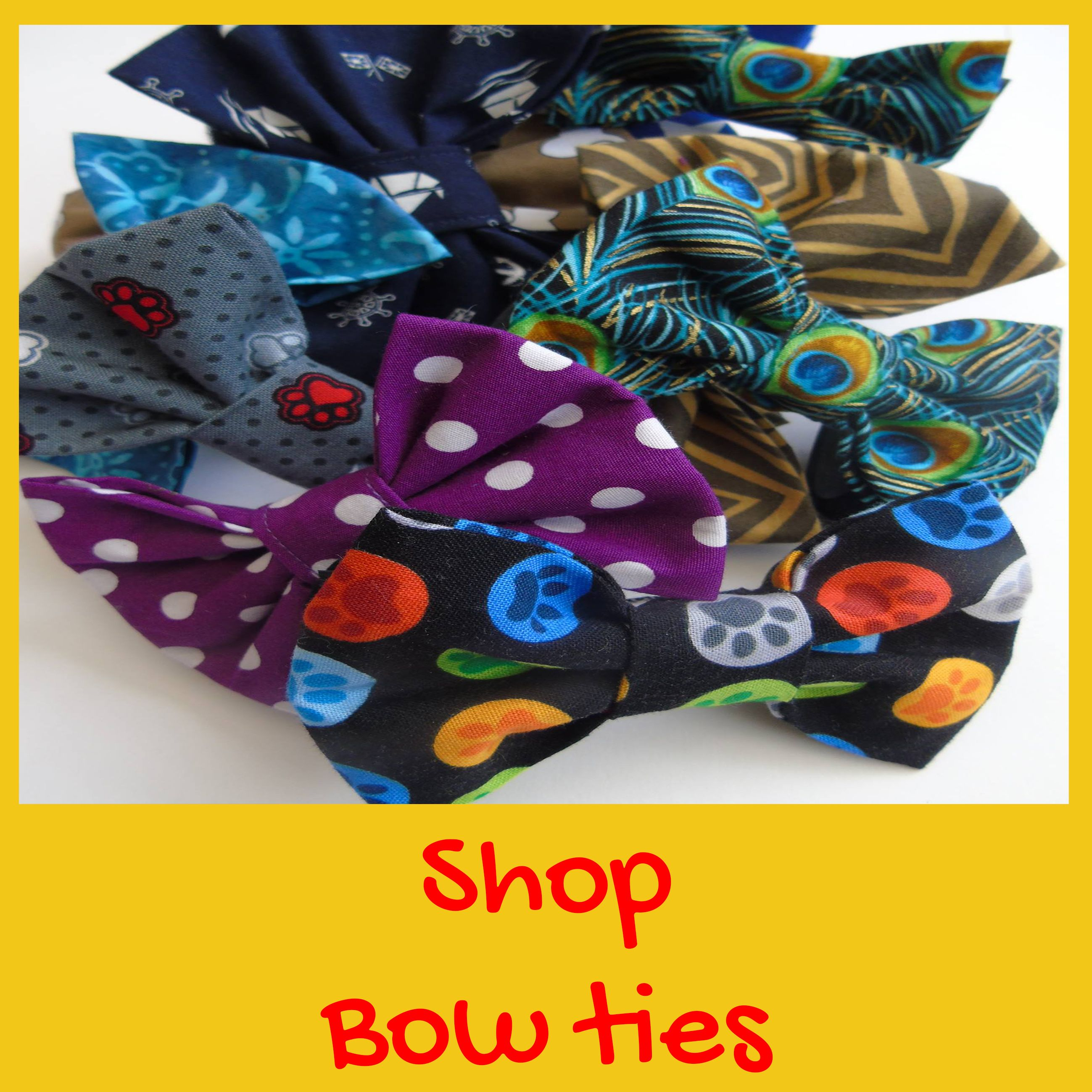 For the best bow ties for dogs and cats head to Dudiedog Bandanas handmade bow tie shop! Free UK p&p,