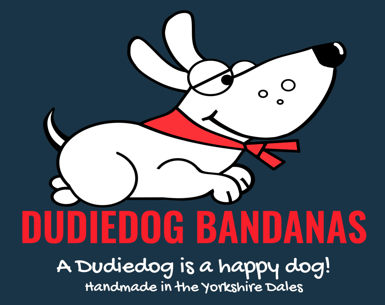 Find the best dog accessories at Dudiedog Bandanas. Free UK p&p, Worldwide delivery