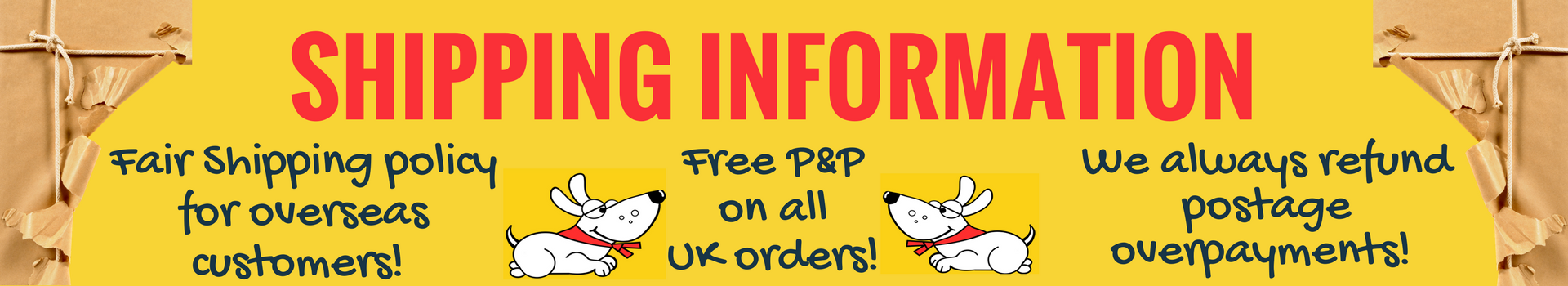 Free delivery on all UK orders and fair price International shipping with Dudiedog Bandanas